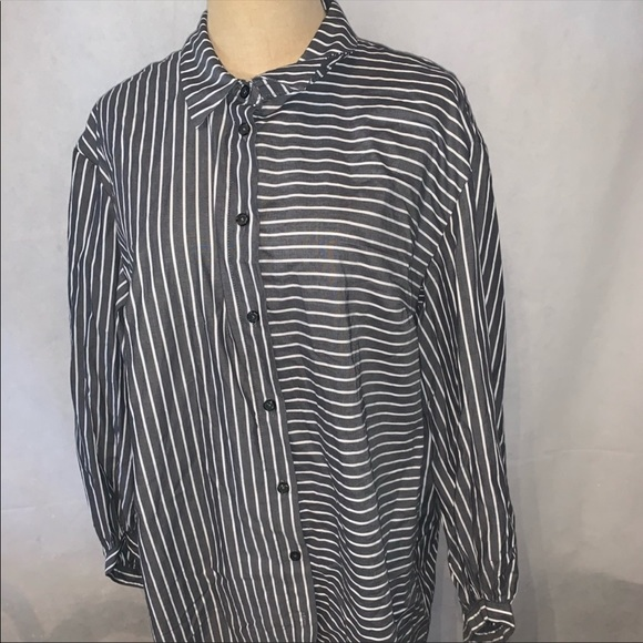Who what wear brand new long sleeved striped
